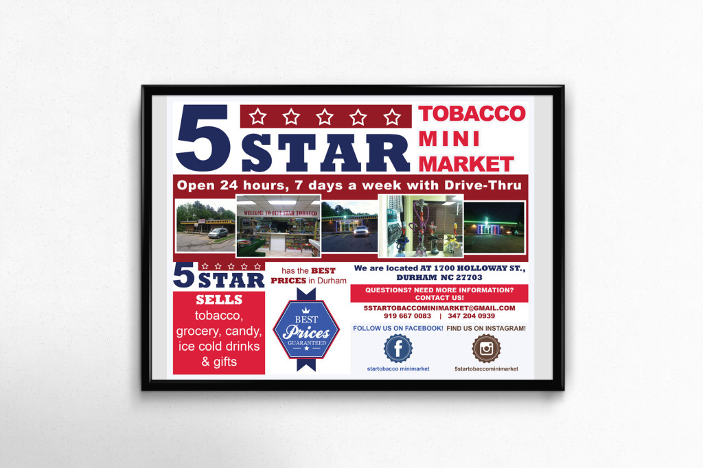 5STAR_Tobacco_Poster