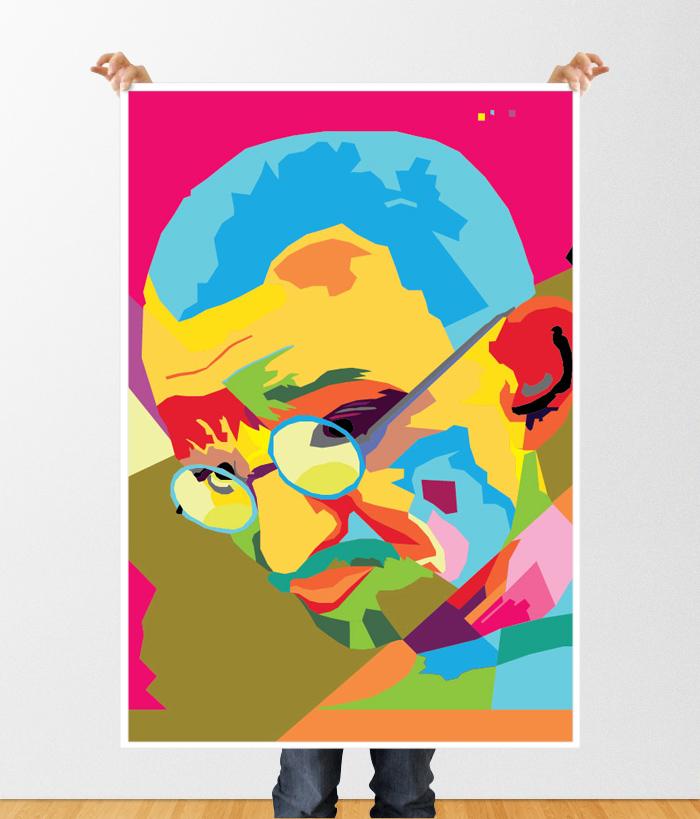 Gandhi WPAP1 Poster