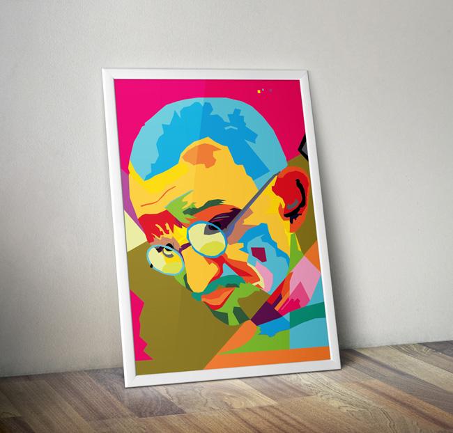 Gandhi WPAP2 Poster