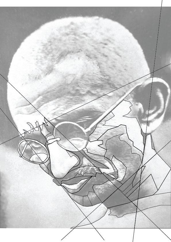 WPAP Gandhi Step 1